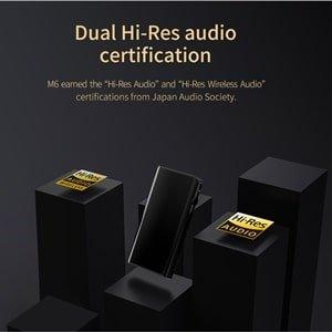dual hi-res certification-m6