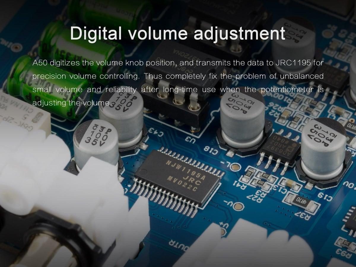 digital volume adjust